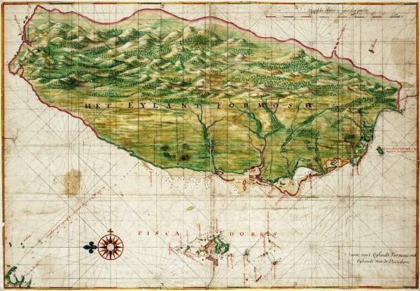 Map_of_Formosa-Taiwan_by_Dutch_荷蘭人所繪福爾摩沙-臺灣