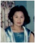 1967年婆婆攝於堪薩斯