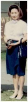 1968年婆婆攝於堪薩斯