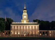 Independence Hall費城的Independence Hall