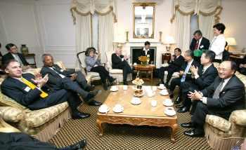 陳水扁紐約接受國際人權聯盟頒獎16
