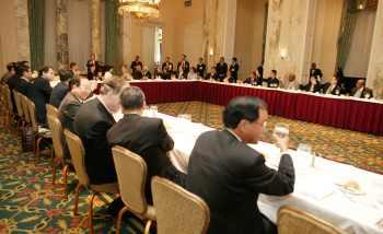 陳水扁紐約接受國際人權聯盟頒獎17