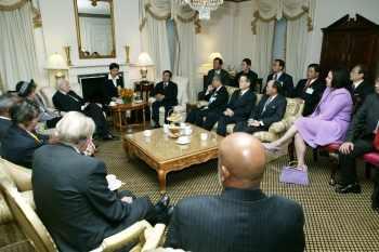 陳水扁紐約接受國際人權聯盟頒獎18