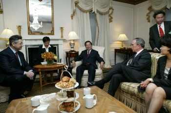 陳水扁紐約接受國際人權聯盟頒獎19