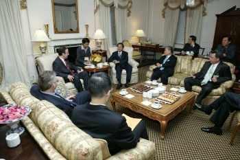 陳水扁紐約接受國際人權聯盟頒獎20