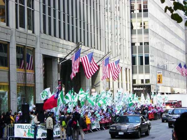 陳水扁紐約接受國際人權聯盟頒獎5