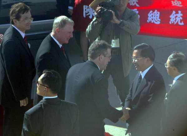 陳水扁紐約接受國際人權聯盟頒獎7