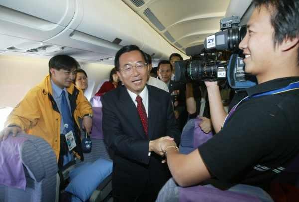 陳水扁紐約接受國際人權聯盟頒獎9