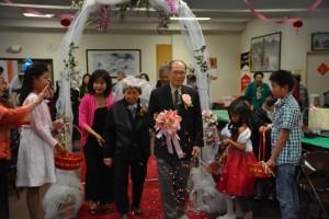 結婚70年的鑽石婚李富木和李張嬌蕊夫婦