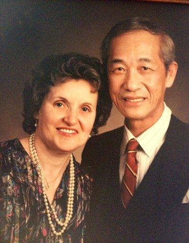 李玉琛醫師伉儷合影於七十年代