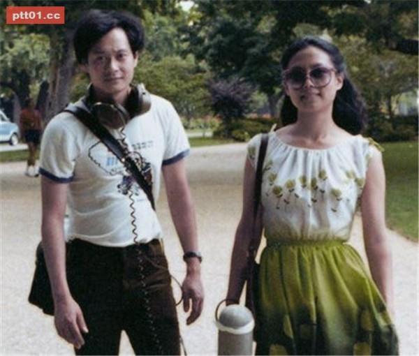 李安夫妻年輕照