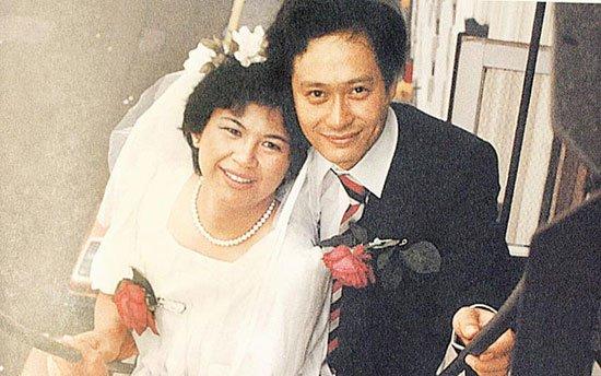 李安夫妻結婚照