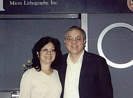 八十年代在矽谷創業成功的顏永財與莊和子夫婦
